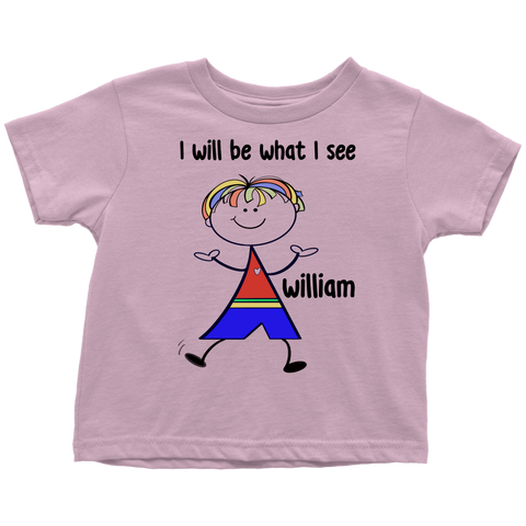 WILLIAM Toddler Tee (5002)
