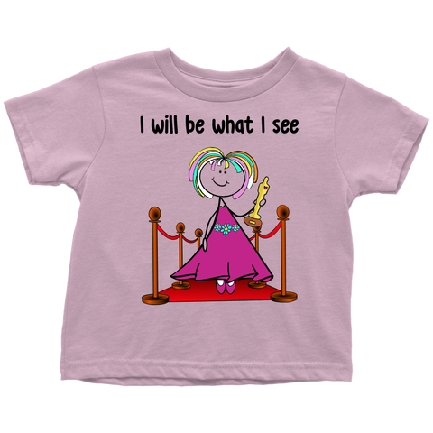 Girl Actress Toddler Tee (1045)