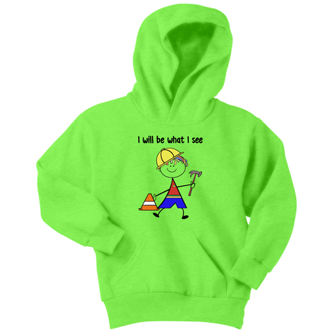 Boy Builder Youth Hoodie (1013)