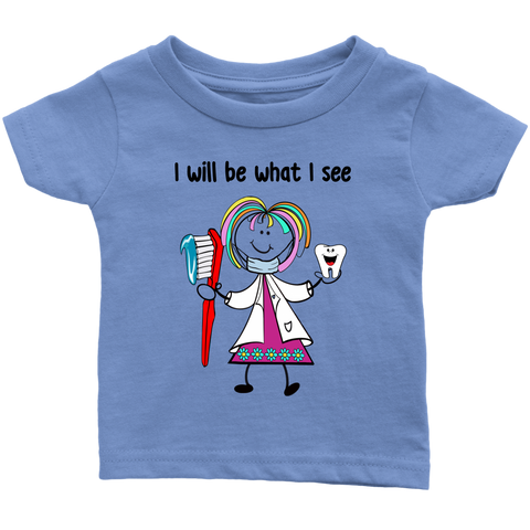 Girl Dentist Infant Tee (1028)