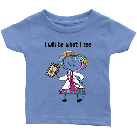 Girl Doctor Infant Tee (1002)