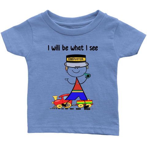 Boy Conductor Infant Tee (1043)