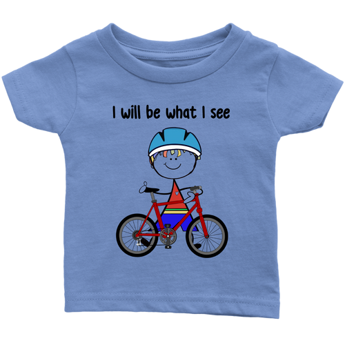 Boy Cycling Infant Tee (3036)
