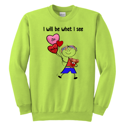 Boy Valentine's Day Youth Sweat (8011)