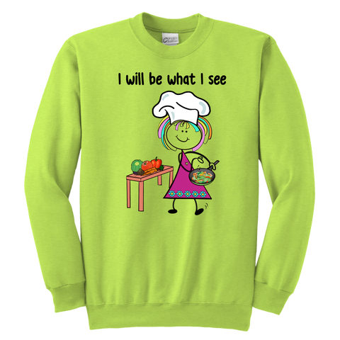 Girl Chef Youth Sweat (1035)