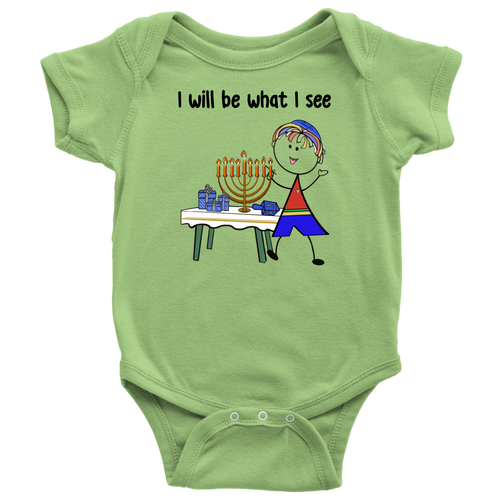 Boy Chanukah Onesie (8006)