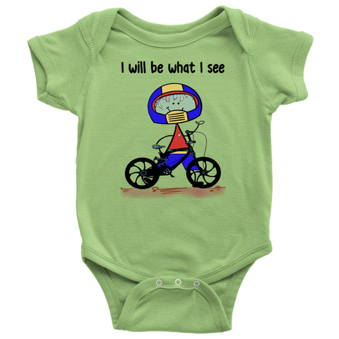 Boy BMX Biking Onesie (3034)