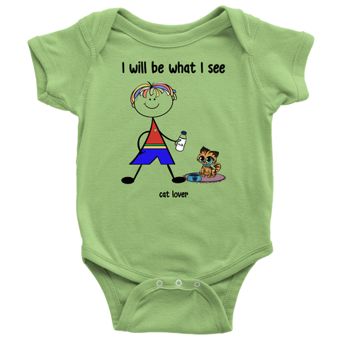 Boy Cat Lover Onesie (2033)