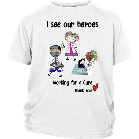 Science Heroes Youth Tee (8702)