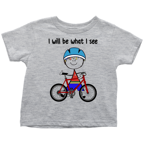 Boy Cycling Toddler Tee (3036)