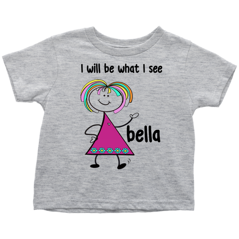 BELLA Toddler Tee (4025)
