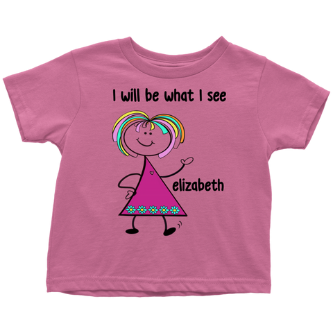ELIZABETH Toddler Tee (4011)