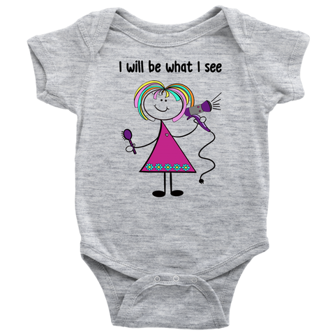 Girl Hairdresser Onesie (1016)