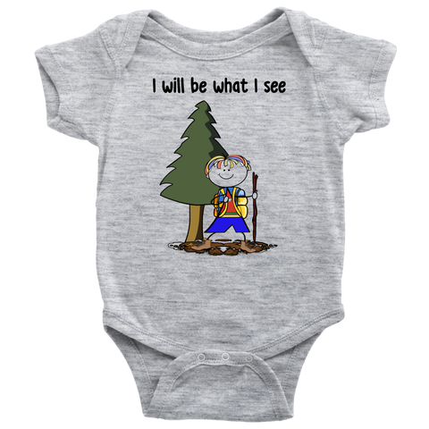 Boy Hiking Onesie (3077)