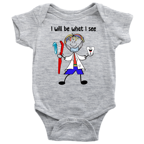 Boy Dentist Onesie (1027)