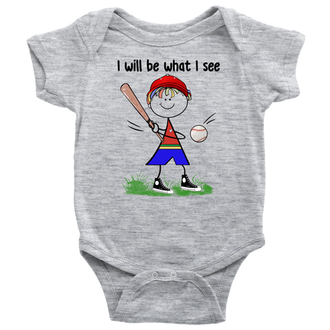 Boy Baseball Onesie (3002)