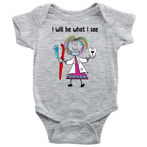 Girl Dentist Onesie (1028)