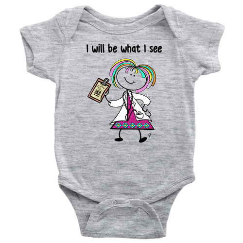 Girl Doctor Onesie (1002)