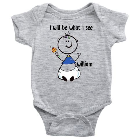 WILLIAM Baby Onesie (5002)