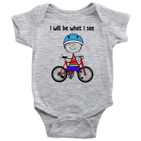 Boy Cycling Onesie (3036)