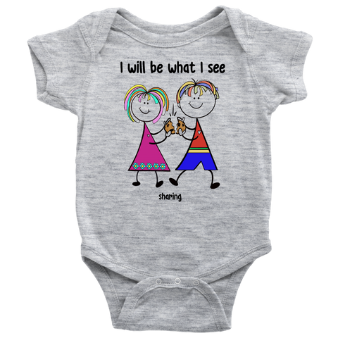 Boy & Girl Sharing Onesie (2009)