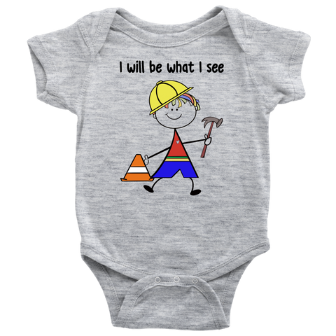 Boy Builder Onesie (1013)