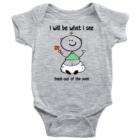 Fresh Out of the Oven Unisex Onesie (6015)