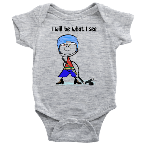 Boy Ice Hockey Onesie (3013)