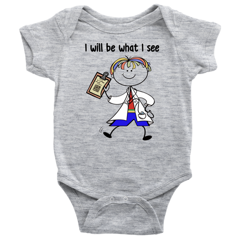 Boy Doctor Onesie (1003)
