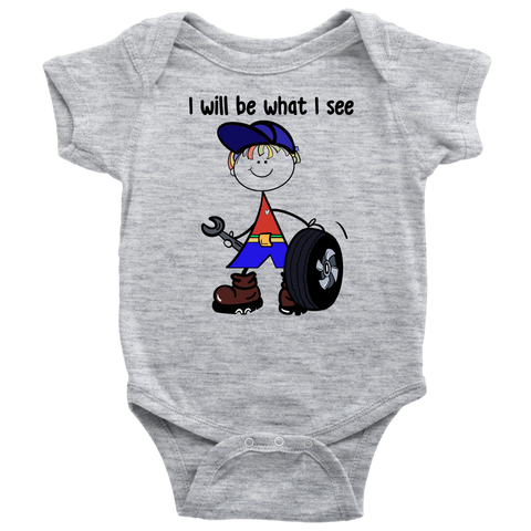 Boy Mechanic Onesie (1040)