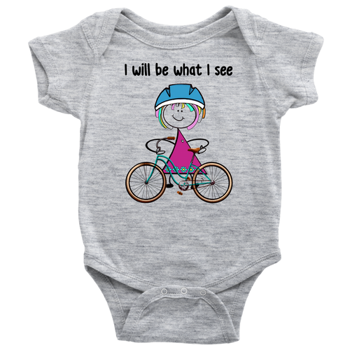Girl Cycling Onesie (3035)