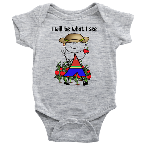 Boy Farmer Onesie (1025)