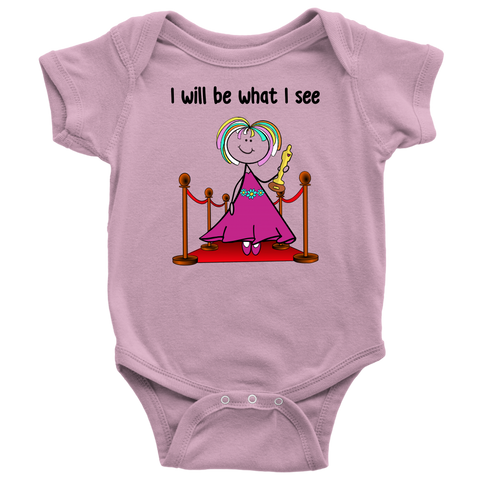 Girl Actress Onesie (1045)