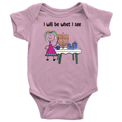 Girl Chanukah Onesie (8005)