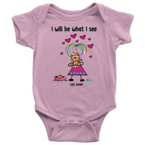 Girl Cat Lover Onesie (2032)