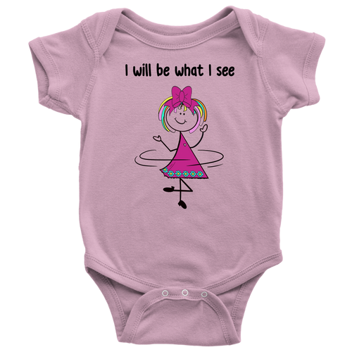 Girl Dancing Onesie (3022)