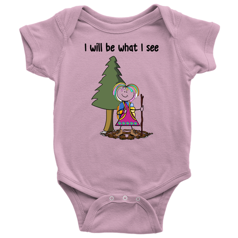 Girl Hiking Onesie (3076)