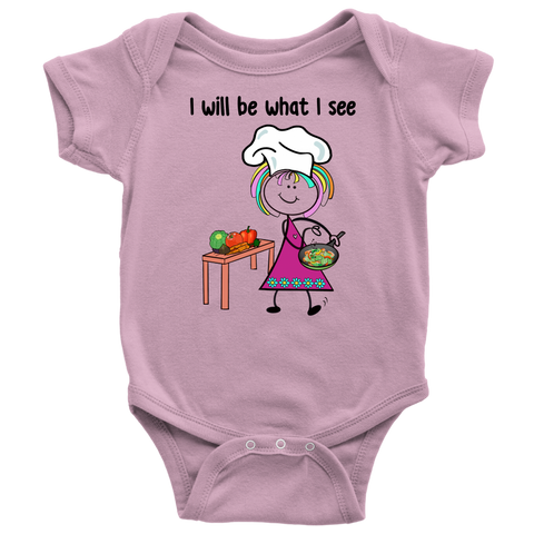 Girl Chef Onesie (1035)