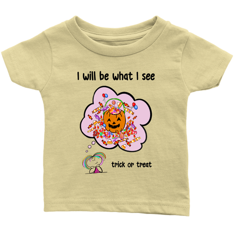 Girl Halloween Infant Tee (8002)
