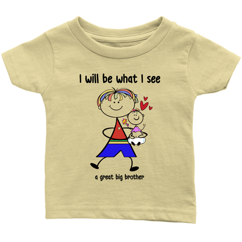 Big Brother Little Sister Infant Tee (2013)