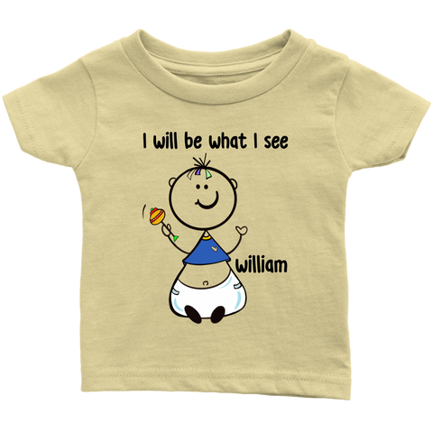 WILLIAM Baby Infant Tee (5002)