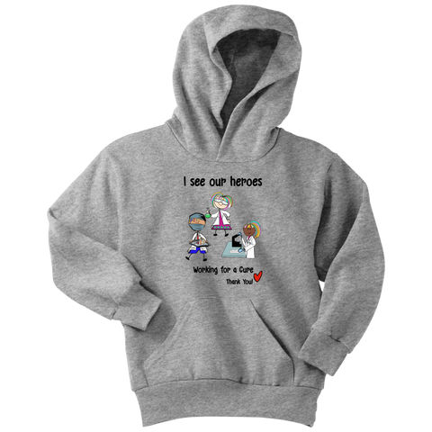 Science Heroes Youth Hoodie (8702)