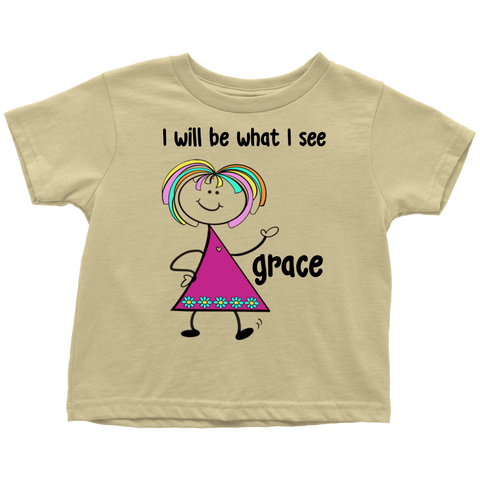 GRACE Toddler Tee (4014)
