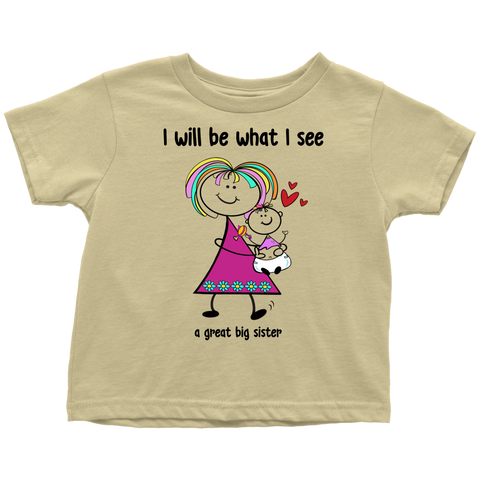 Big Sister, Little Sister Toddler Tee (2014)