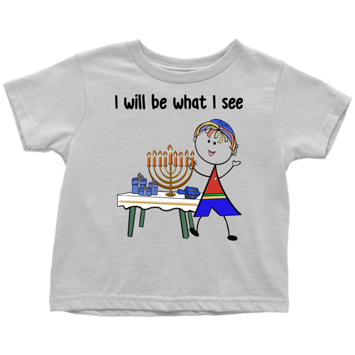 Boy Chanukah Toddler Tee (8006)