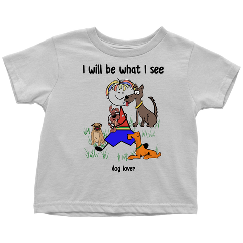 Boy Dog Lover Toddler Tee (2031)