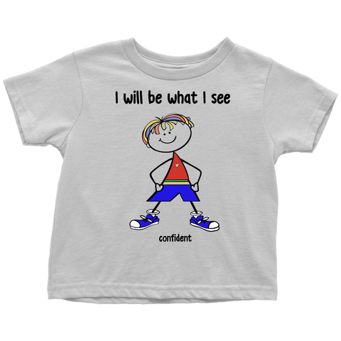 Boy Confident Toddler Tee (2026)