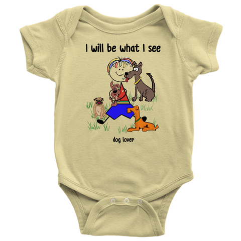 Boy Dog Lover Onesie (2031)