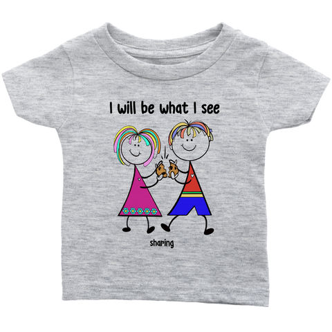 Boy & Girl Sharing Infant Tee (2009)