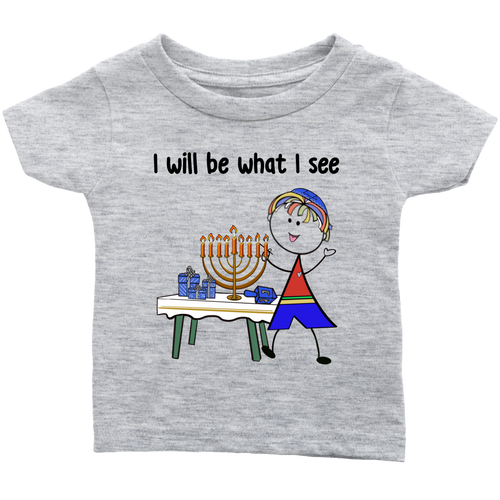 Boy Chanukah Infant Tee (8006)